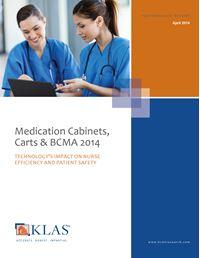 Medication Cabinets, Carts, & BCMA 2014
