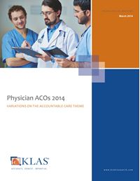 Physician ACOs 2014
