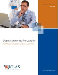 Radiology Dose Monitoring Solutions 2014