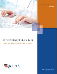 Clinical Market Share 2014