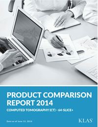 Computed Tomography (CT) - 64-Slice Product Comparison Report 2014