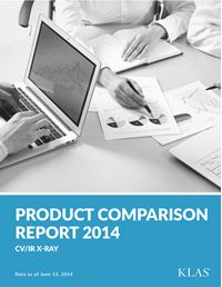 CV/IR X-Ray Product Comparison Report 2014