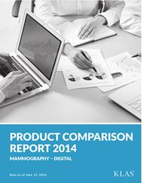 Digital Mammography Product Comparison Report 2014