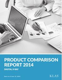 Digital X-Ray Product Comparison Report 2014
