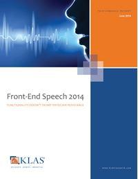 Front-End Speech 2014