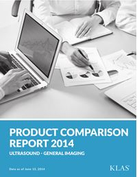 General Imaging Ultrasound Product Comparison Report 2014