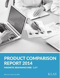 MR 1.5 T Product Comparison Report 2014