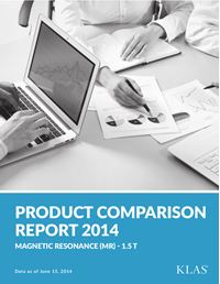 MR 1.5 T Product Comparison Report 2014