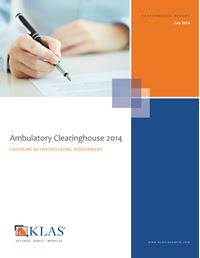 Ambulatory Clearinghouse 2014