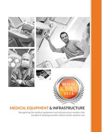 2014 Best in KLAS Awards - Medical Equipment and Infrastructure