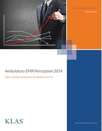Ambulatory EMR Perception 2014