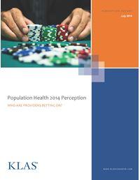 Population Health 2014 Perception