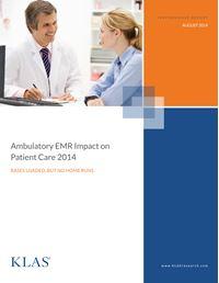 Ambulatory EMR Impact on Patient Care 2014