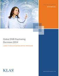 Global EMR Purchasing Decisions 2014