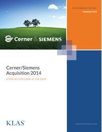 Cerner/Siemens Acquisition 2014