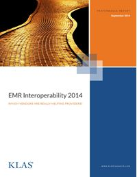 EMR Interoperability 2014