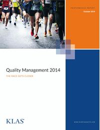 Quality Management 2014