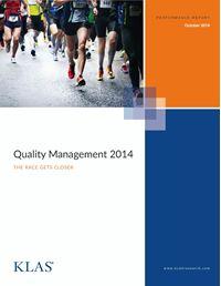 Quality Management 2014