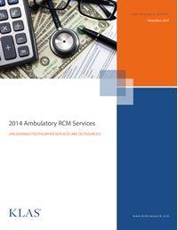 2014 Ambulatory RCM Services