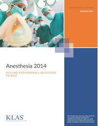 Anesthesia 2014