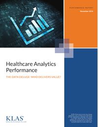 Healthcare Analytics Performance