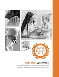 2014 Best in KLAS Awards - Software and Professional Services