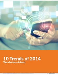 10 Trends of 2014 You May Have Missed