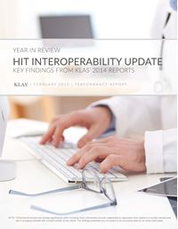 HIT Interoperability Update