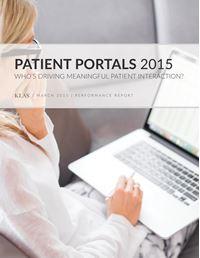 Patient Portals 2015