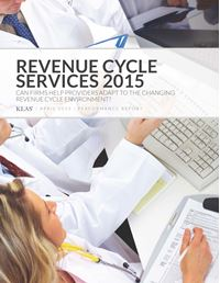 Revenue Cycle Services 2015
