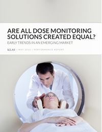 Are All Dose Monitoring Solutions Created Equal? Early Trends in an Emerging Market