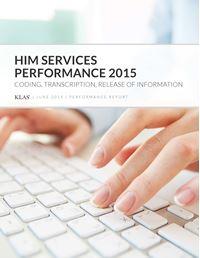HIM Services Performance 2015