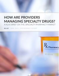 How are Providers Managing Specialty Drugs?