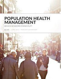 Population Health Management Perception 2015