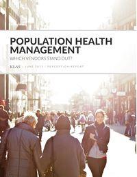 Population Health Management Perception 2015