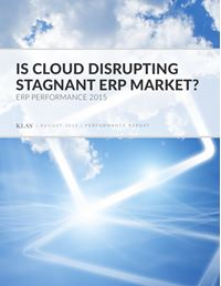Is Cloud Disrupting Stagnant ERP Market?