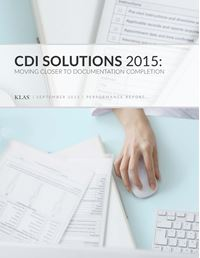 CDI Solutions 2015