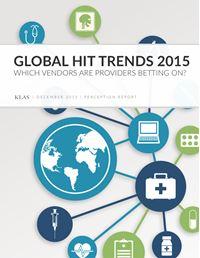 Global HIT Trends 2015