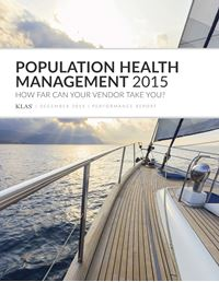 Population Health Management 2015