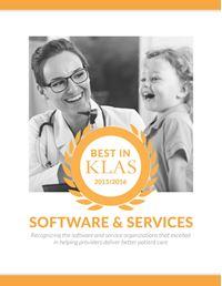 2015/2016 Best in KLAS Awards