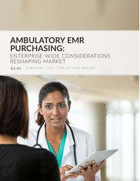 Ambulatory EMR Purchasing