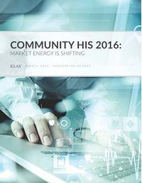 Community HIS 2016