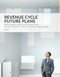Revenue Cycle Future Plans