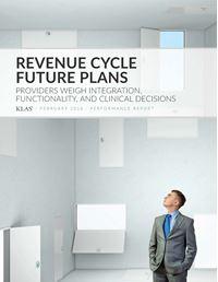 Revenue Cycle Future Plans