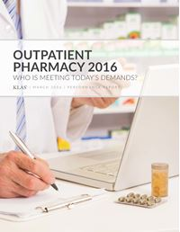 Outpatient Pharmacy 2016