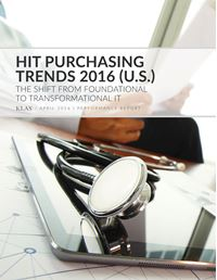 HIT Purchasing Trends 2016 (U.S.)