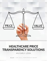 Healthcare Price Transparency Solutions 2016