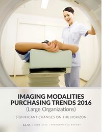 Imaging Modality Trends (Large Organizations)