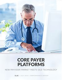 Core Payer Platforms 2016