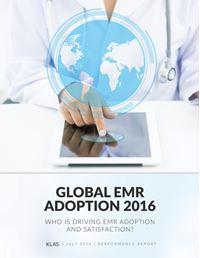 Global EMR Adoption 2016
